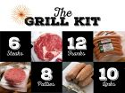 Grill Kit with Ribeyes