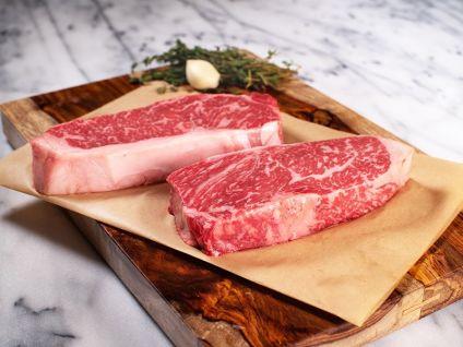 American Wagyu Kobe Style Classic Strip Steak (2 per pack)