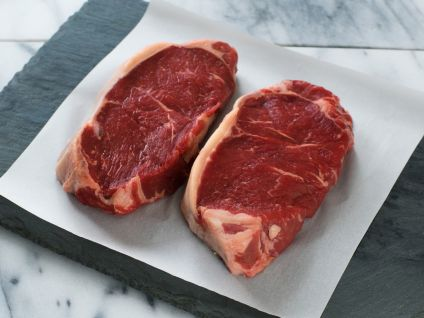New York State Grass Fed Strip Steaks (8 per Pack)