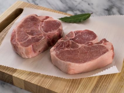 Free Range Naturally Raised Iowa Pork Porterhouse Steaks (4 per pack)
