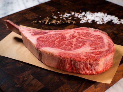 AMERICAN WAGYU KOBE BEEF STYLE DRY AGED FRENCHED RIB CHOP
