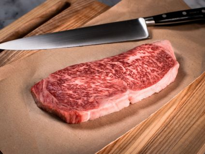 Japanese Miyazaki Wagyu 12oz Strip Steak Kobe Beef Style (1 Per Pack)