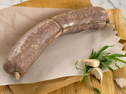 COTECHINO, ALSO KNOWN AS SAUCISSON A L'AIL (PORK GARLIC SAUSAGE)