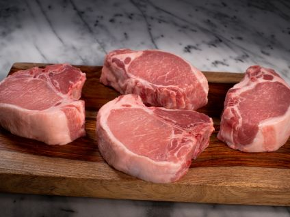 Gloucester Old Spot Pork Chops  (4 per pack)