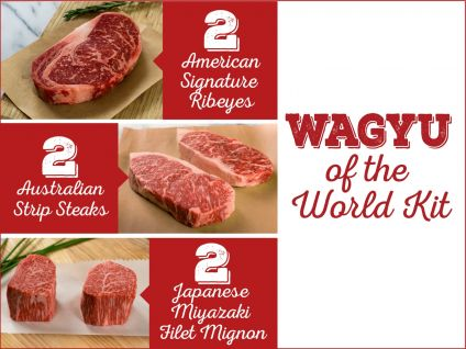 Wagyu meats from around the world