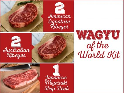 try wagyu from around the world