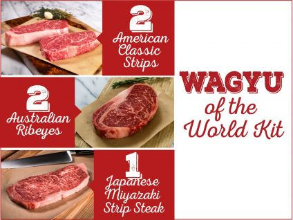 Wagyu of the world kit