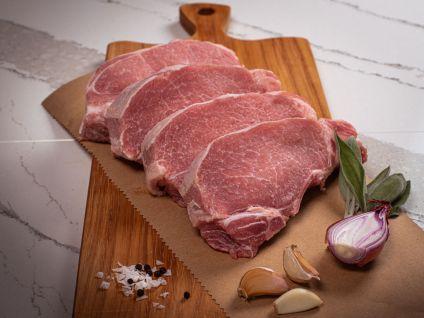 Gloucester Old Spot Pork Loin Chops (4 per Pack)