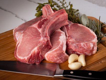 Gloucester Old Spot Pork Chops  (8 per pack)