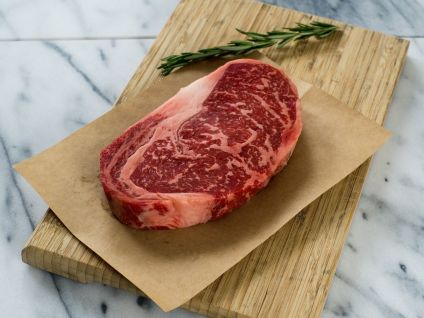 Naturally Raised Dry aged Hand Select Ribeye, (4 per pack)