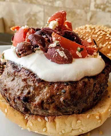 Greek Medley Burger Topper