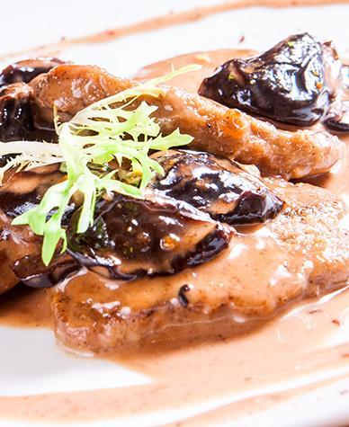 Roast Pork with Prunes