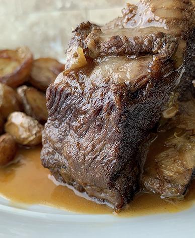 Braised Irish Whiskey Beef Short Ribs