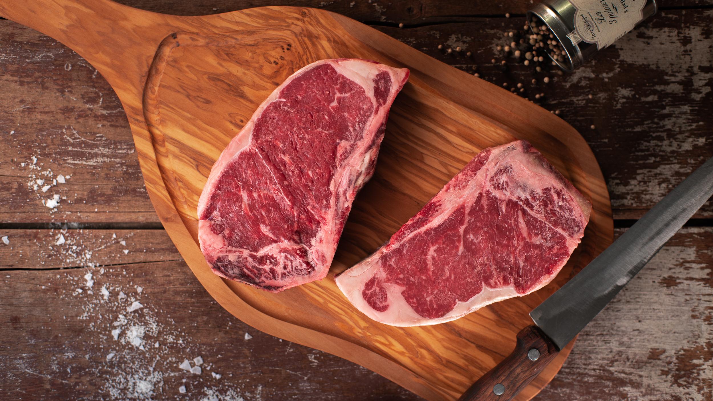 DeBragga Strip steaks